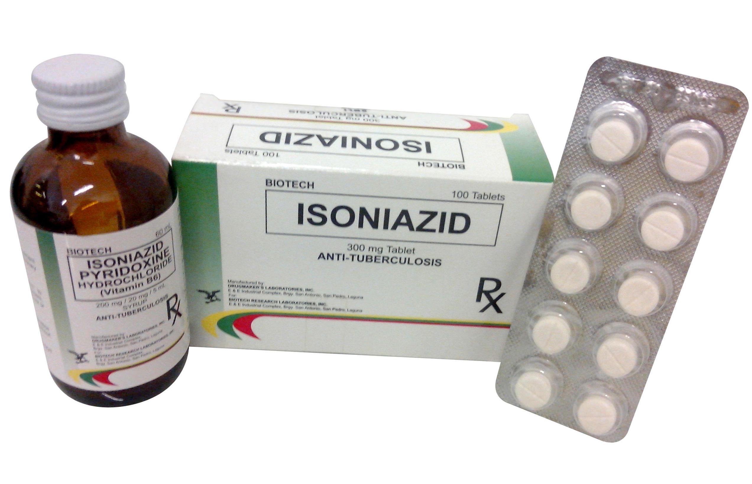 Изониазид в таблетках и растворе