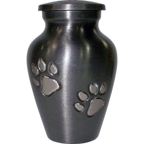 урна для праха животных черная